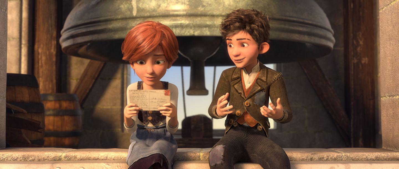 Felicie und Viktor im Waisenhaus