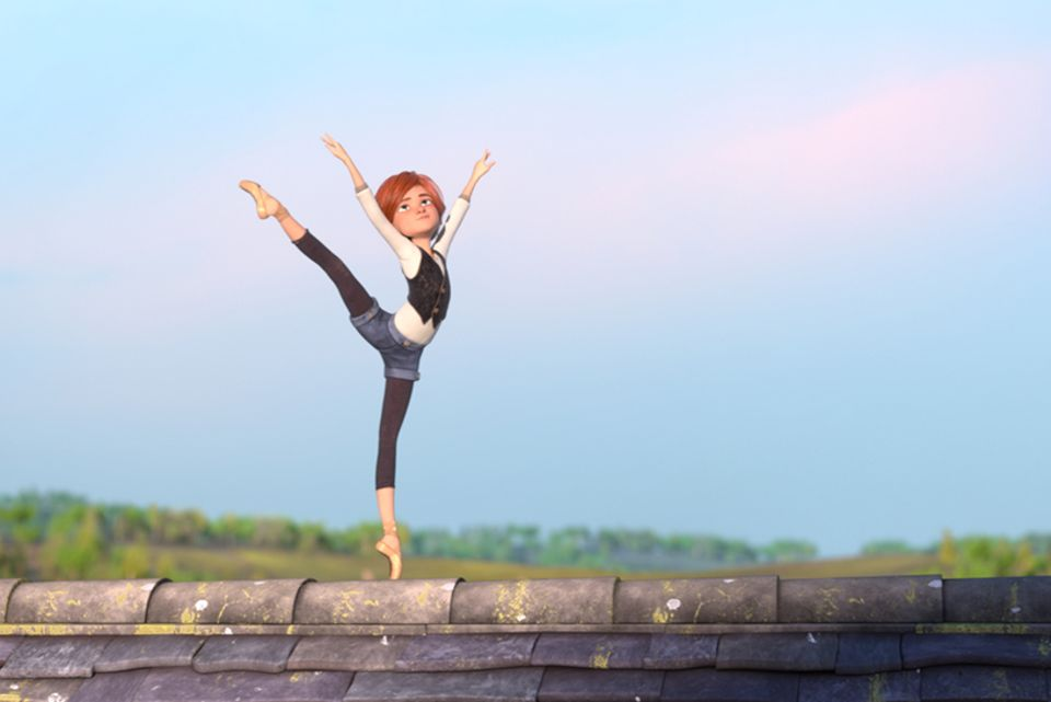 Felicie tanzt auf dem Dach