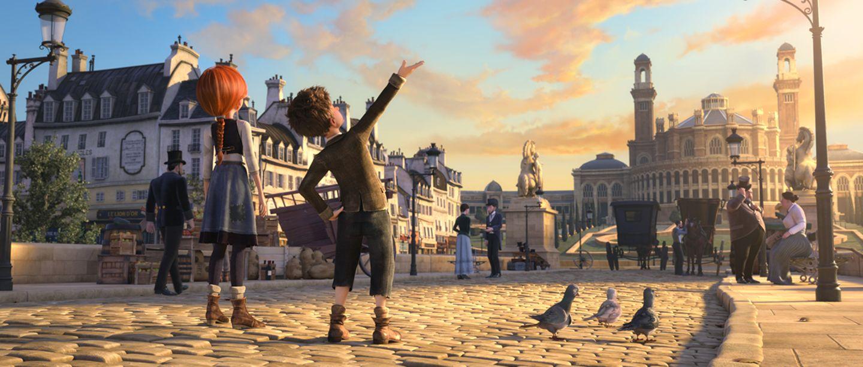 Felicie und Viktor in Paris