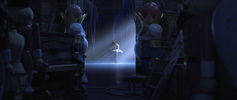 Ballerina in der Oper
