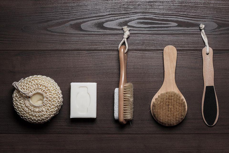 Beautyprodukte Holz