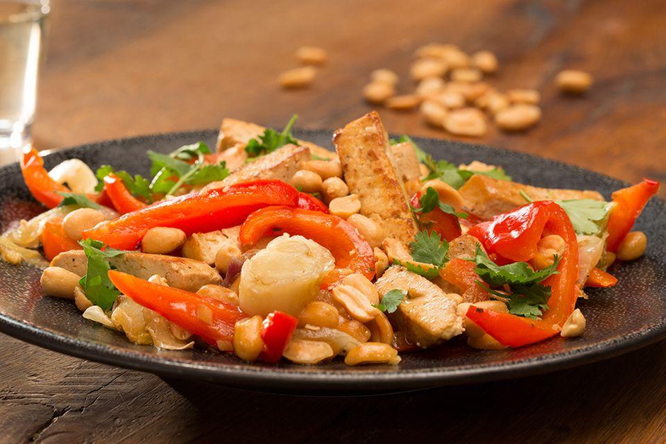 Tofu mit Chicoree