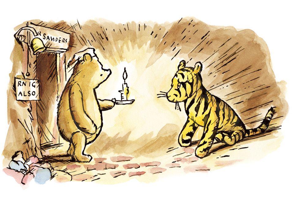 Pu der Bär und Tigger