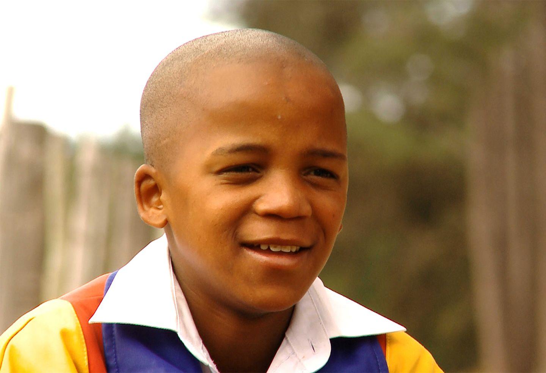 """Luniko aus Südafrika im Film """"Nicht ohne uns"""""""