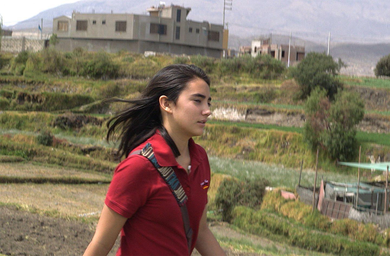"""Valeria (Peru) im Film """"Nicht ohne uns"""""""