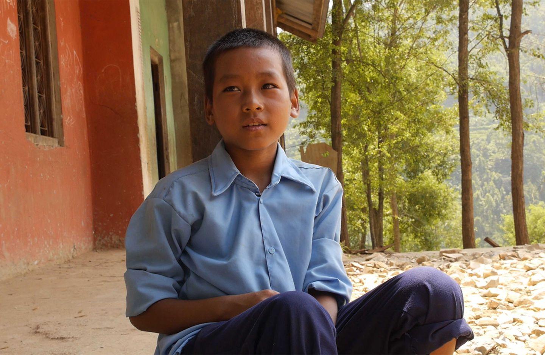 """Anish aus Nepal in """"Nicht ohne uns"""""""