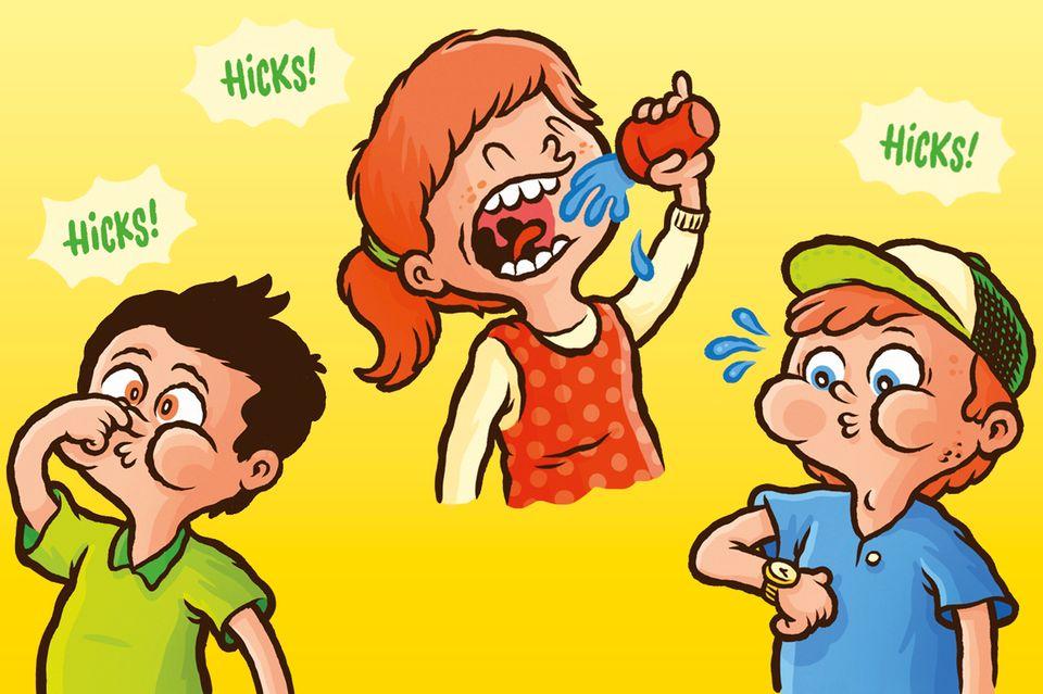 Tipps gegen Schluckauf