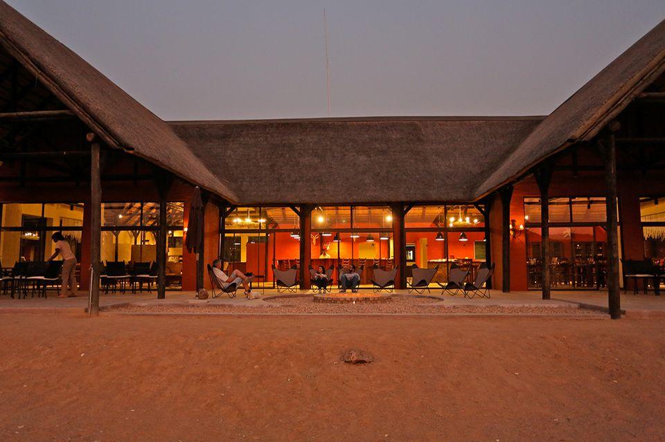 Hobatere Lodge in Namibia