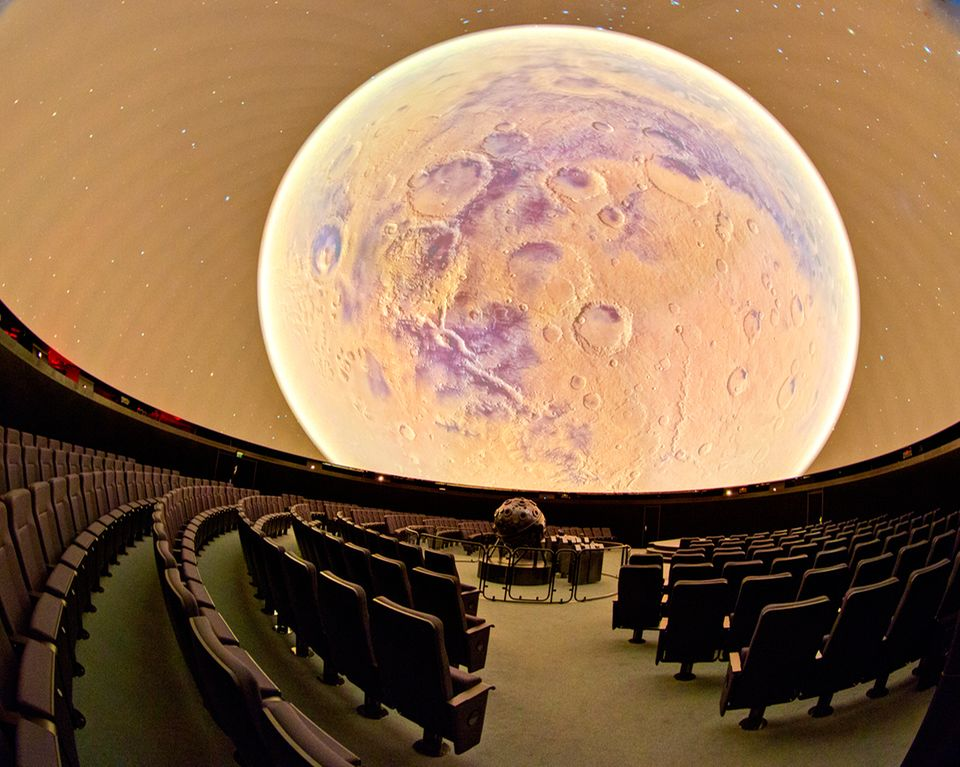 Planetariumssaal des Zeiss-Großplanetariums in Berlin