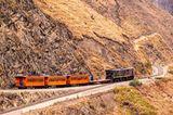 Ecuador, transandische Eisenbahn