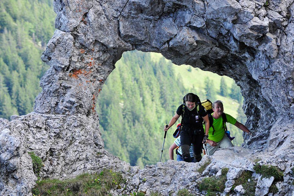Wandern in Lichtenstein