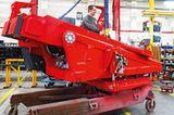 Drehgestell eines Feuerwehrautos