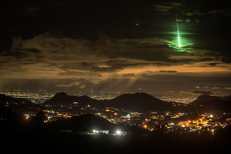 Grüner Meteor