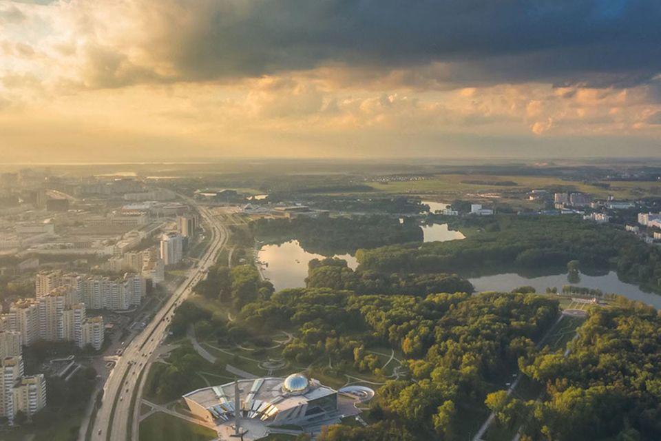 Minsk von oben