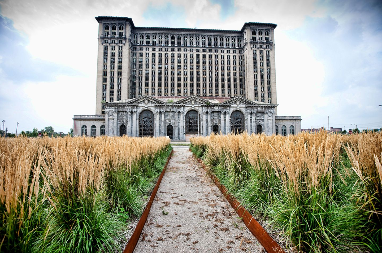 Detroit, Michigan, ehemaliger Hauptbahnhof