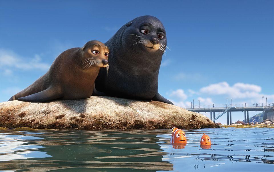 """Nemo und sein Vater in """"Findet Dorie"""""""