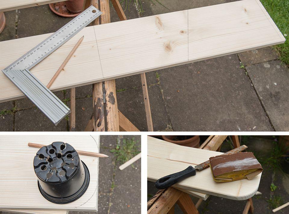 Futterkasten für Eichhoernchen aus Holz