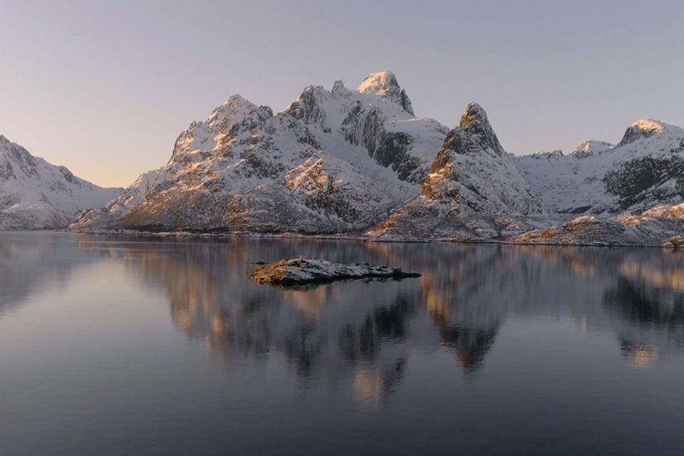 Die Lofoten im Winter