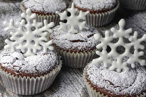 Schnee Muffins