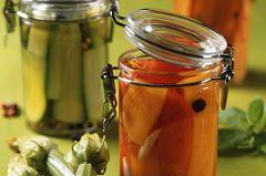 Gemüse in Öl einlegen