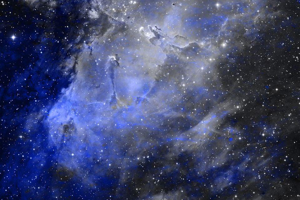 Weltall, Blick in die Sterne