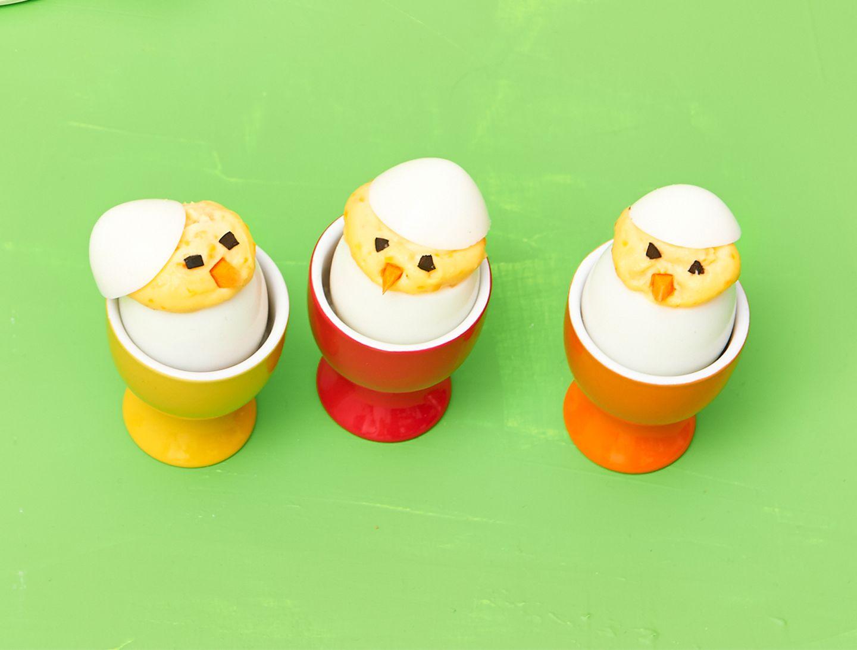 Eier Küken zu Ostern