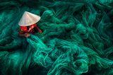 Herstellung von Netzen für die Fischerei