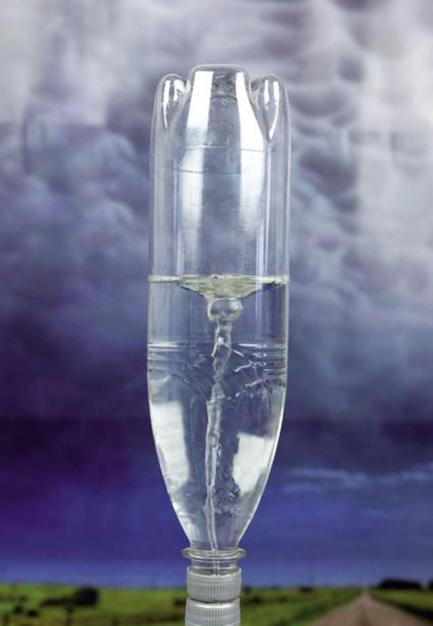 Tornado in der Flasche