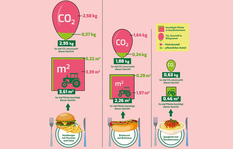 Gerichte im Vergleich