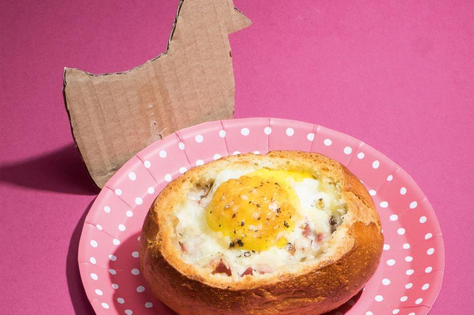 Eierbrötchen
