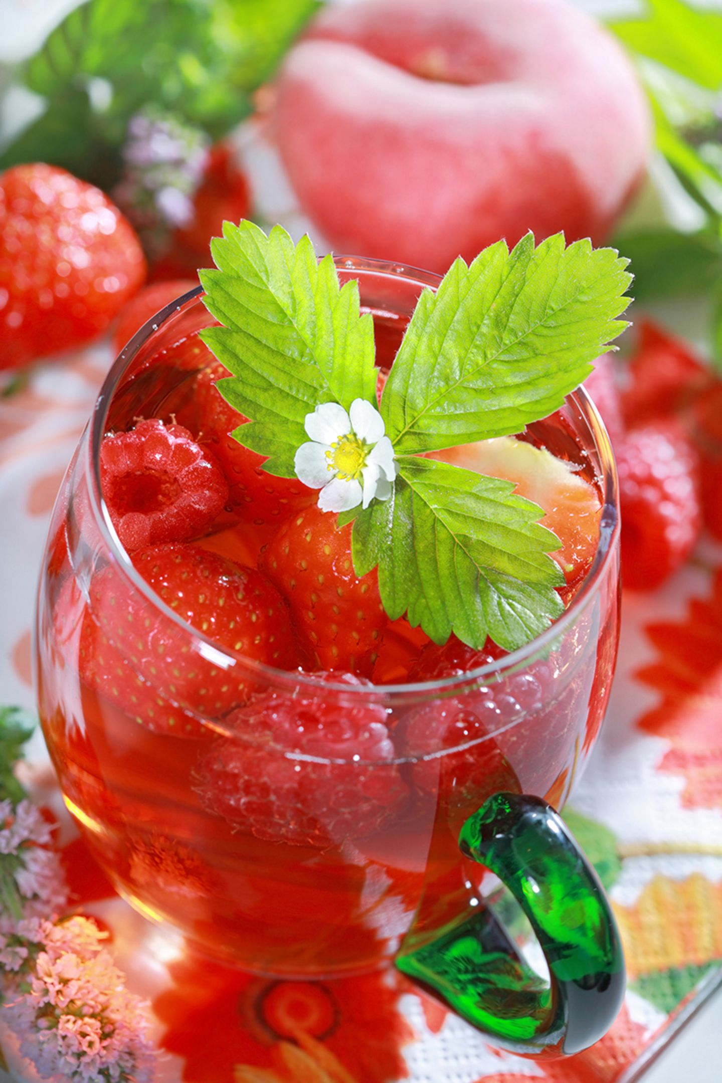 Erdbeer Eistee