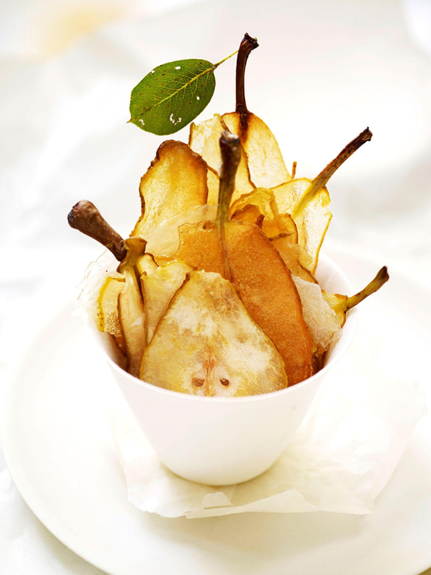 Birnen Chips