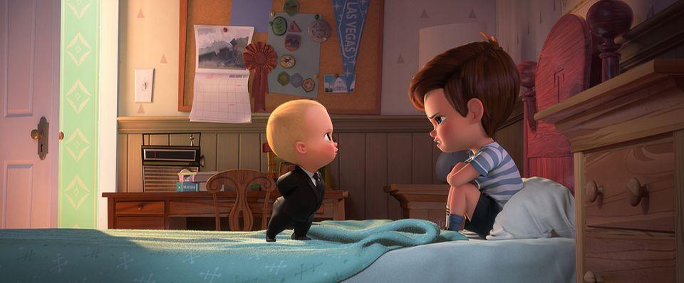 Boss Baby streitet mit Bruder
