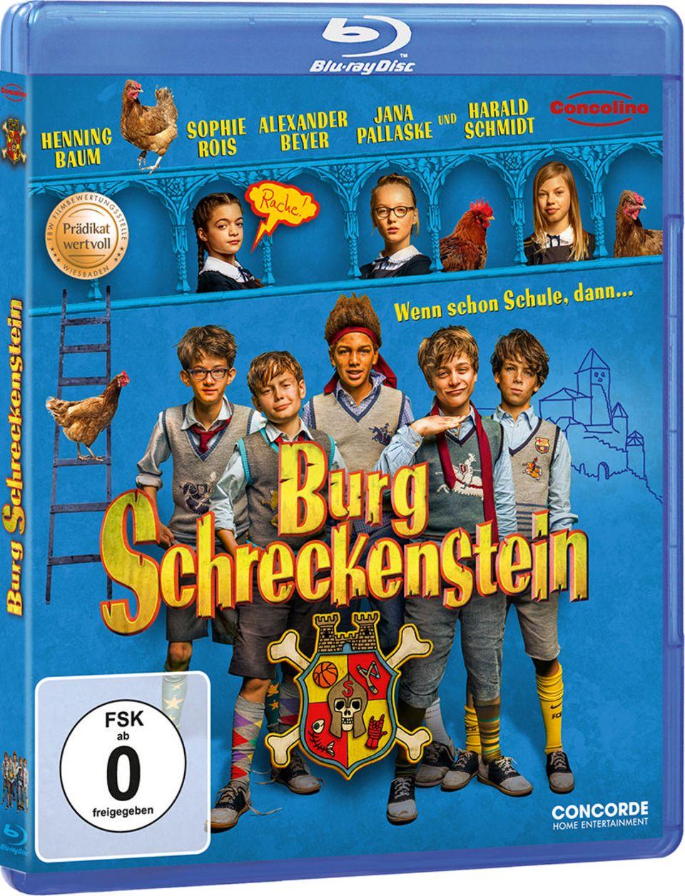 Burg Schreckenstein Blu-Ray