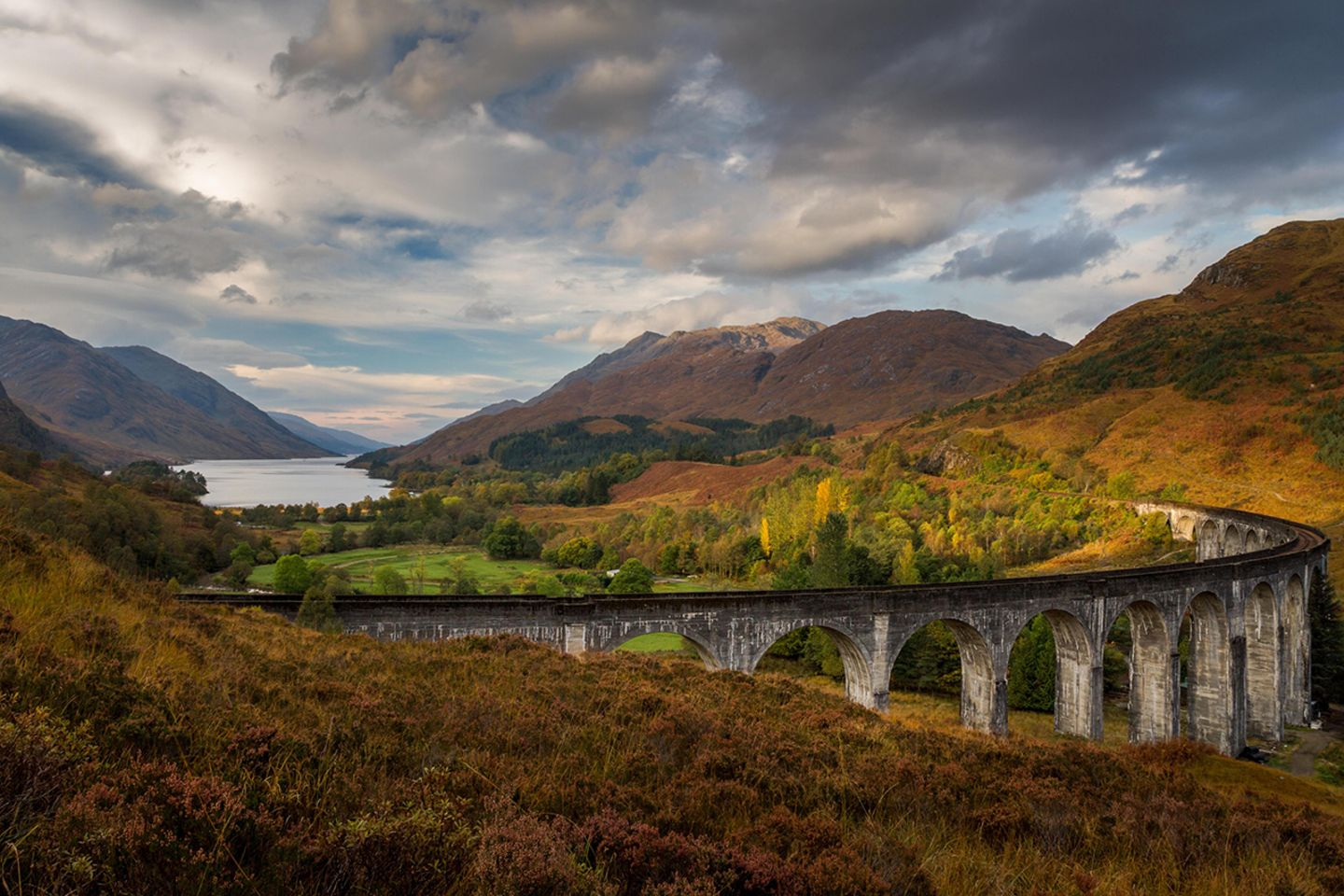 Glenfinnan Viaduct, Loch Shiel