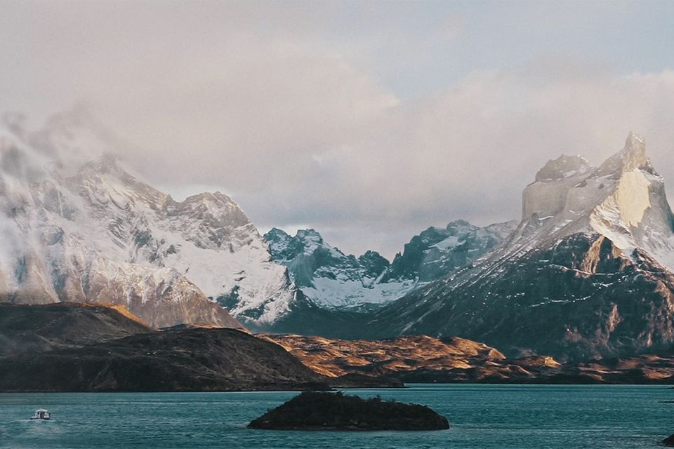Panorama in Patagonien