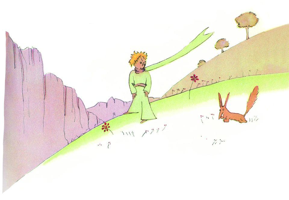 Der Kleine Prinz und der Fuchs