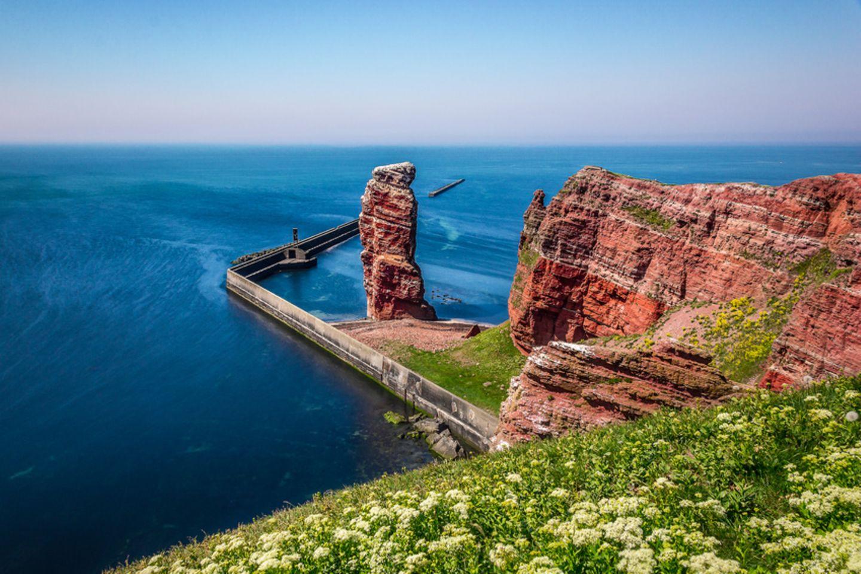 Die lange Anna vor Helgoland