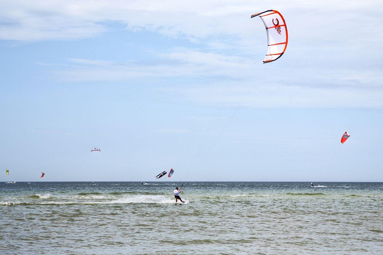 Kitesurfen Nordsee