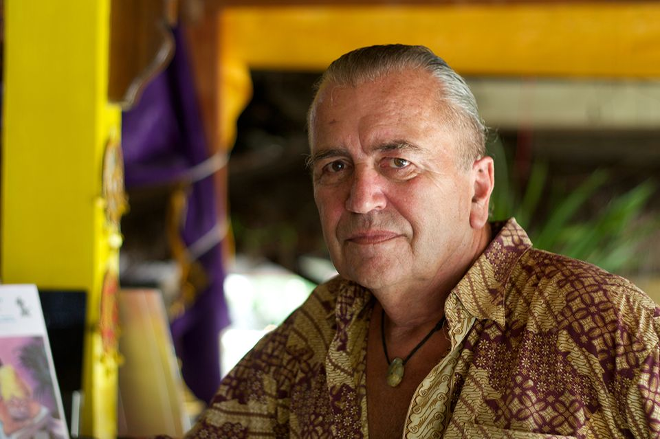 Stefan Pfister auf den Gili Islands