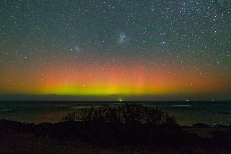 Polarlichter: Hobby-Fotograf filmt außergewöhnliche Südlichter in Australien