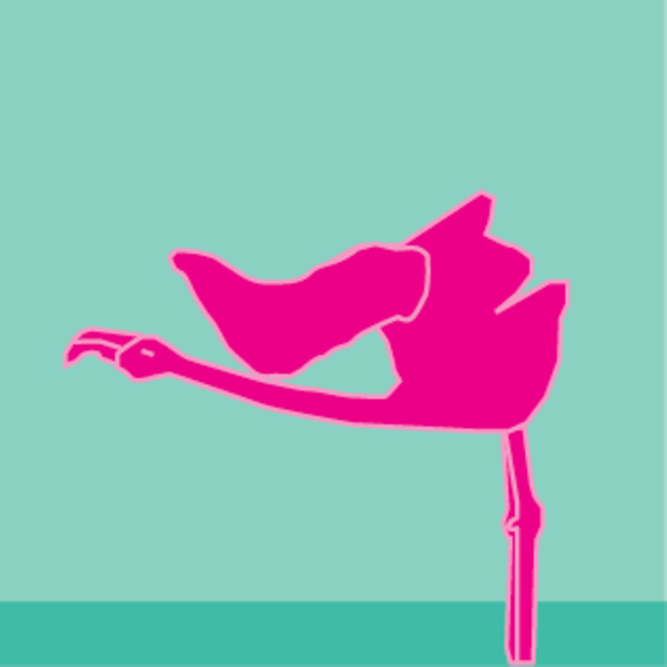 Flamingo Inverted Wing Salute