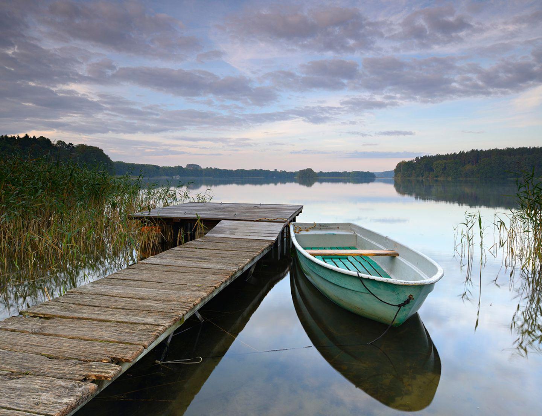 Deutschland, Mecklenburg-Vorpommern, Feldberger Seenlandschaft,