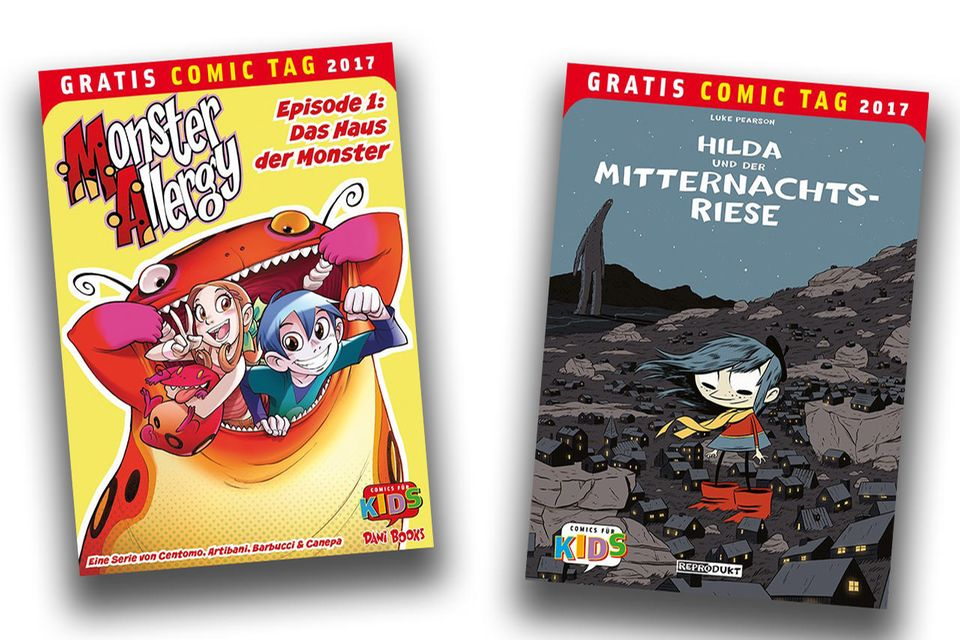 Gratis Comics zum Gratis Comic Tag