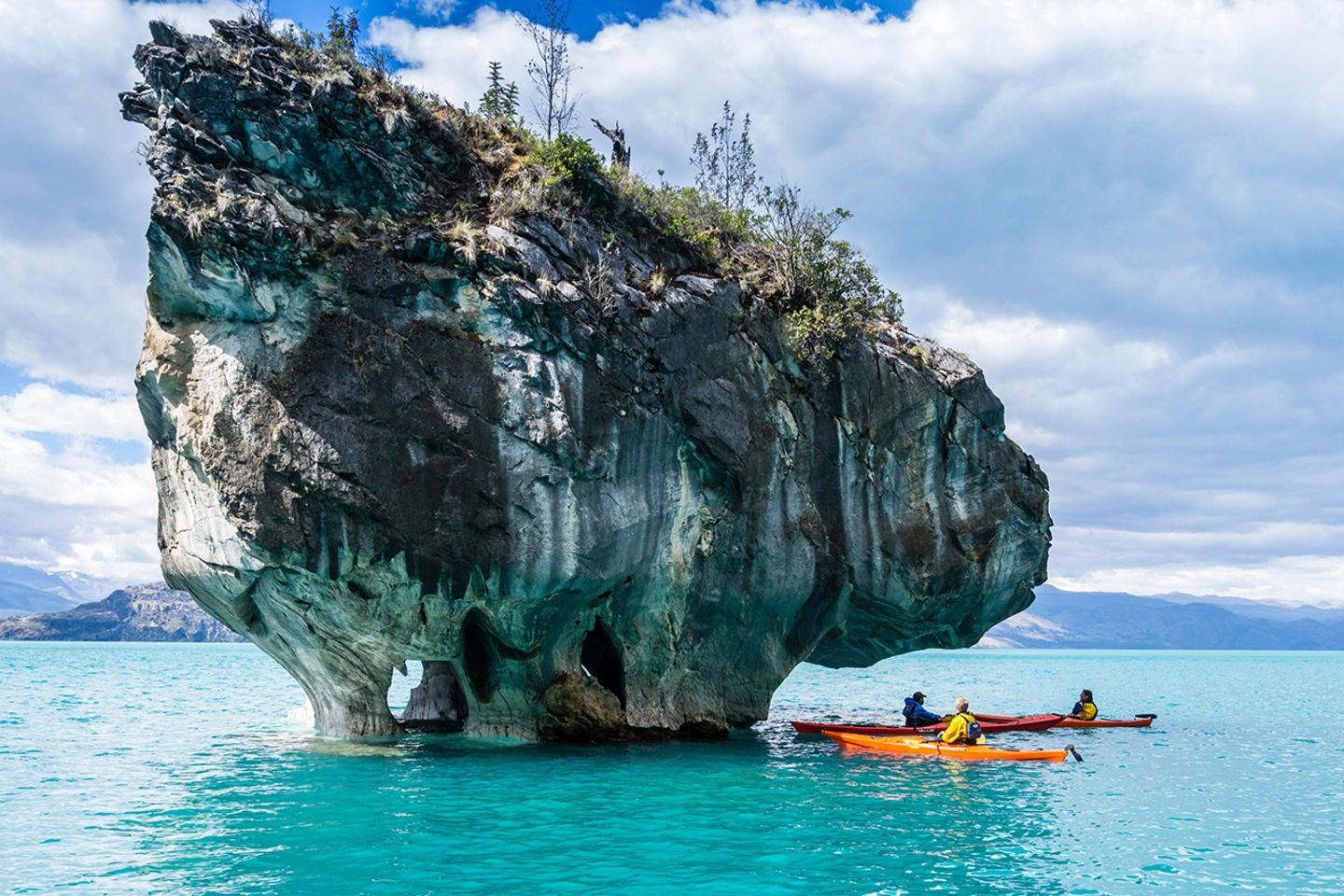 Marble Cave, Chile