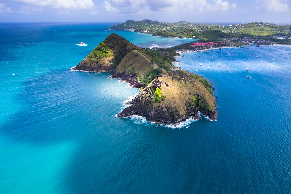 Pigeon Island, Karibik
