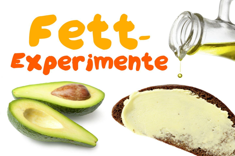 Experimente mit Fett