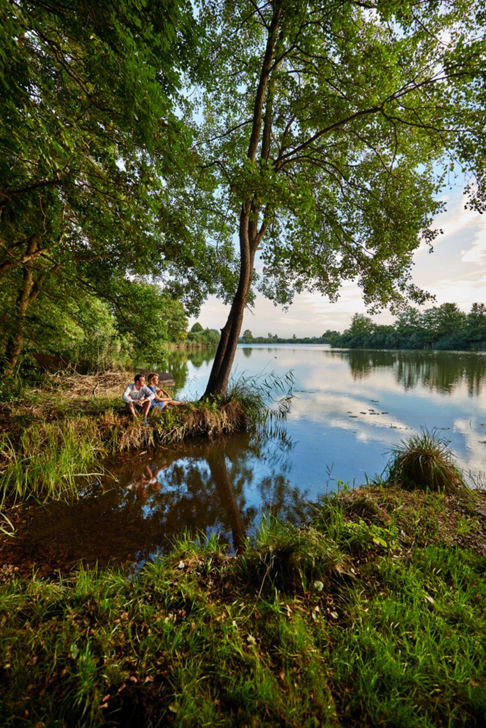 Friedrichswalde, Krummer See, Uckermark