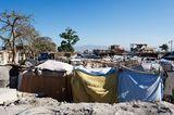 Notunterkünfte nach dem Erdbeben in Port au Prince, Haiti