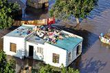 Überschwemmung des Xai-Xai, Mosambik